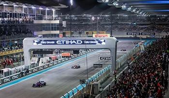 Yas Marina track Abu Dhabi