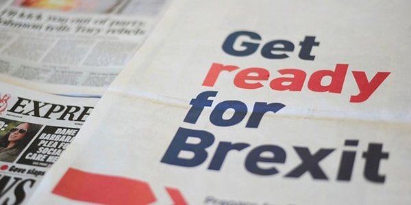 Get ready for Brexit newspaper image