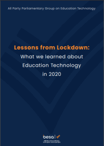 """Download """"EdTech APPG Lessons from Lockdown"""""""